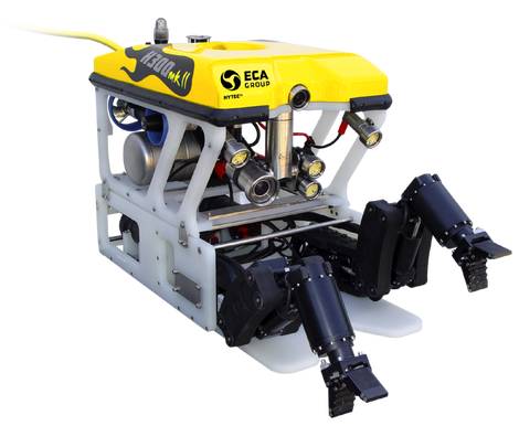 ECA Hytec H300 mkII ROV for inspections of pipelines