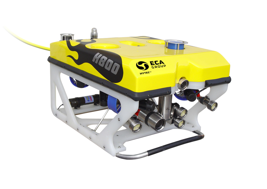ECA Hytec H800 ROV for underwater surveys and inspections