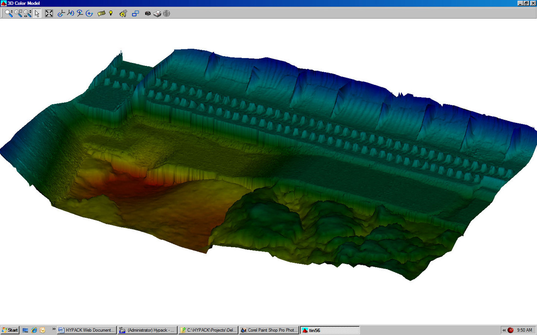 Hypack Surveying Software example, ROV Innovations