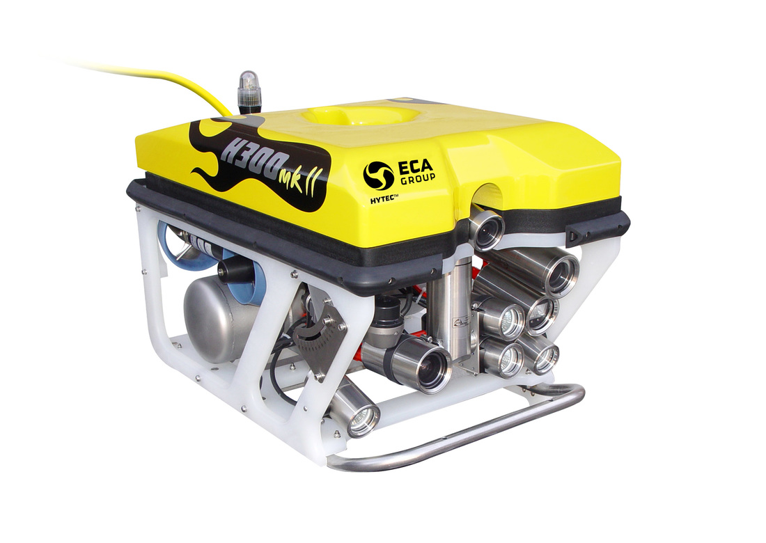 ECA Hytec ROV for underwater inspections and surveys